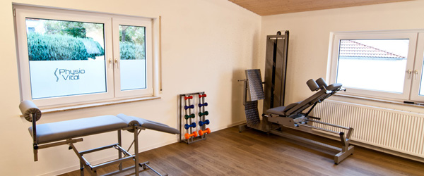 Geräteraum Physiovital Physiotherapie Kirchheim Notzingen