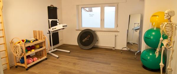 Gymnastikraum Praxis für Physiotherapie